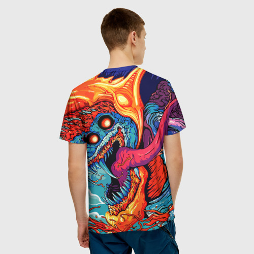 Мужская футболка 3D  Фото 02, Сергей в стиле CS GO