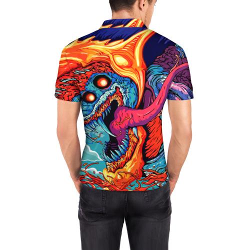 Мужская рубашка поло 3D  Фото 04, Сергей в стиле CS GO