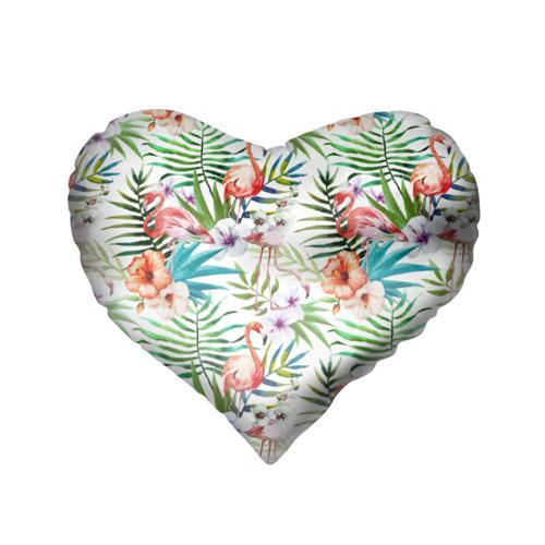 Подушка 3D сердце  Фото 02, Стиль Сафари