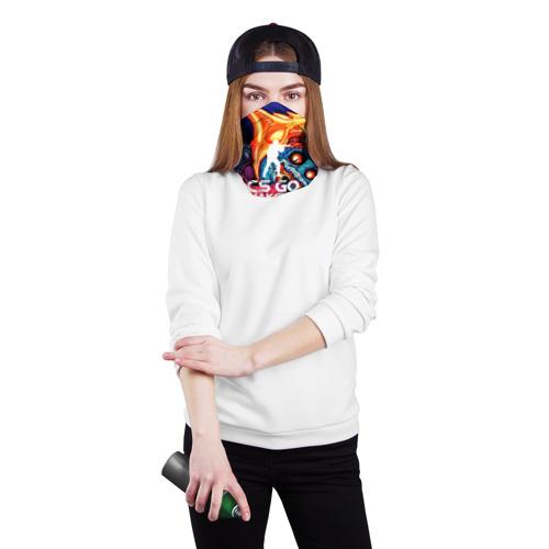 Бандана-труба 3D  Фото 02, Максим в стиле CS GO