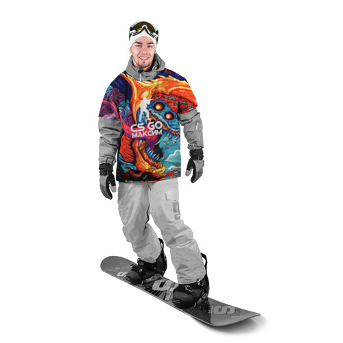 Накидка на куртку 3D  Фото 03, Максим в стиле CS GO