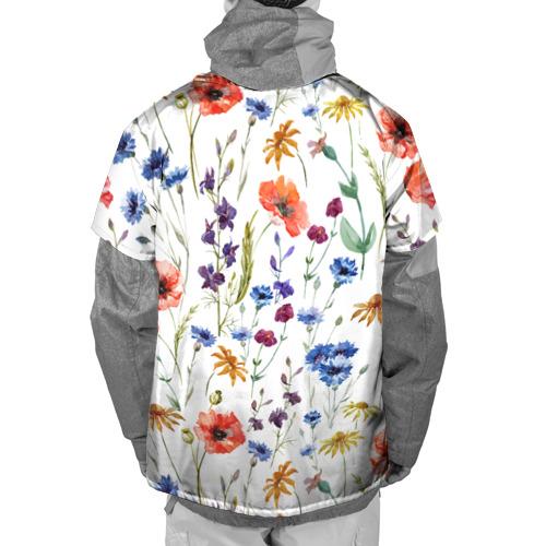Накидка на куртку 3D  Фото 02, Полевые цветы