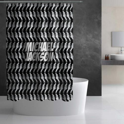 Штора 3D для ванной  Фото 03, Michael Jackson
