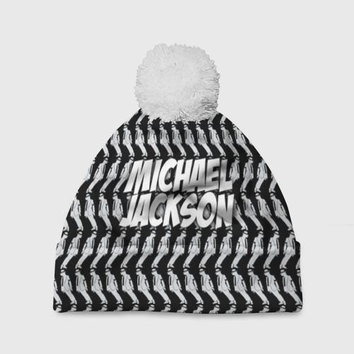 Шапка 3D c помпоном  Фото 01, Michael Jackson