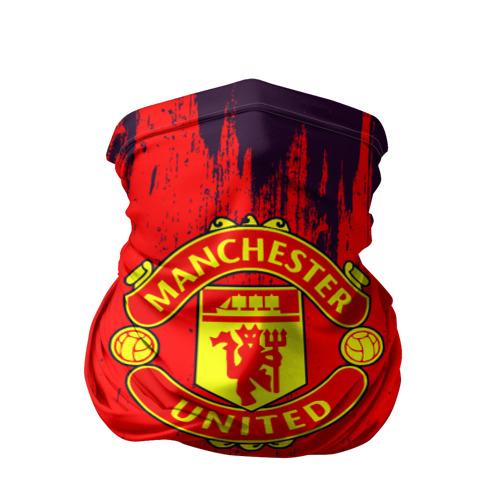 Бандана-труба 3D  Фото 01, Манчестер Юнайтед