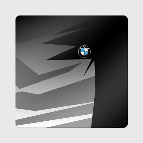 Магнит виниловый Квадрат  Фото 01, BMW 2018 Sport