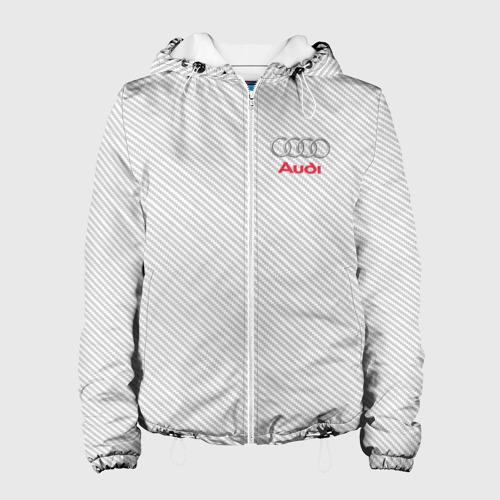 Женская куртка 3D  Фото 01, AUDI  CARBON