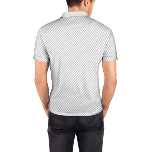 Мужская рубашка поло 3D  Фото 04, AUDI  CARBON