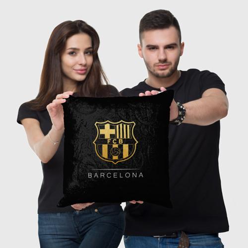 Подушка 3D  Фото 05, Barcelona Gold Edition