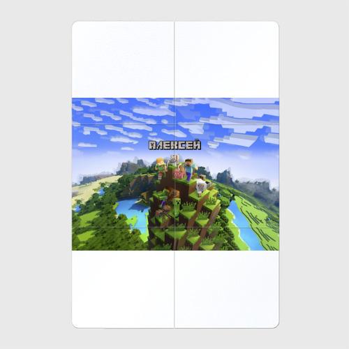 Магнитный плакат 2Х3  Фото 01, Алексей - Minecraft
