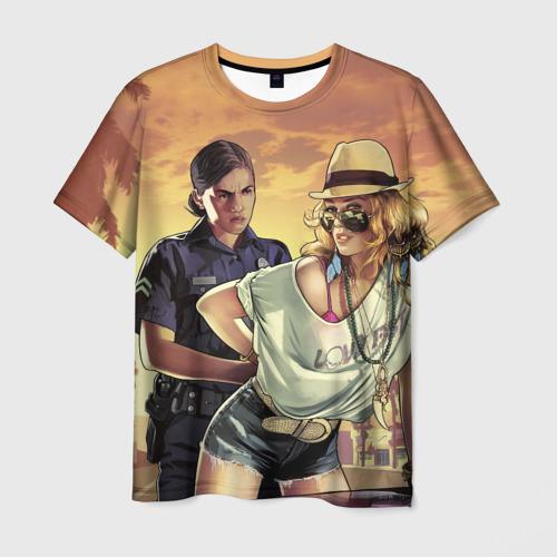 Мужская футболка 3D  Фото 01, GTA 5