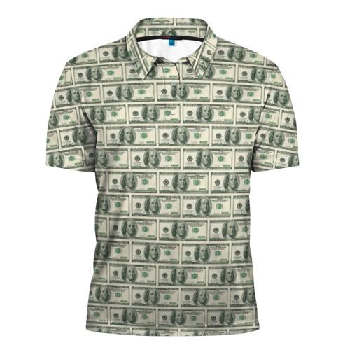 Мужская рубашка поло 3D  Фото 01, Доллары