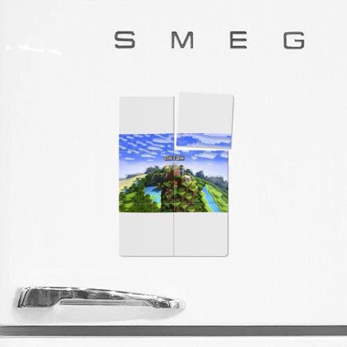 Магнитный плакат 2Х3  Фото 02, Антон - Minecraft