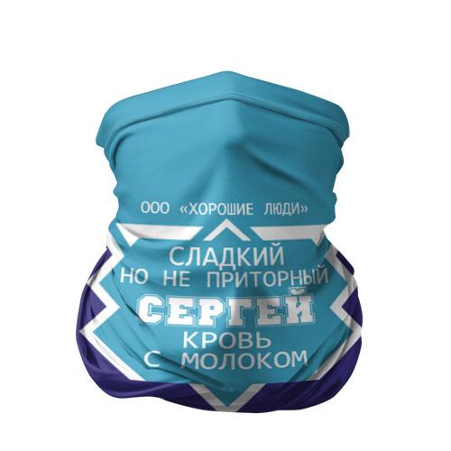 Бандана-труба 3D  Фото 01, Сергей - банка сгущенки