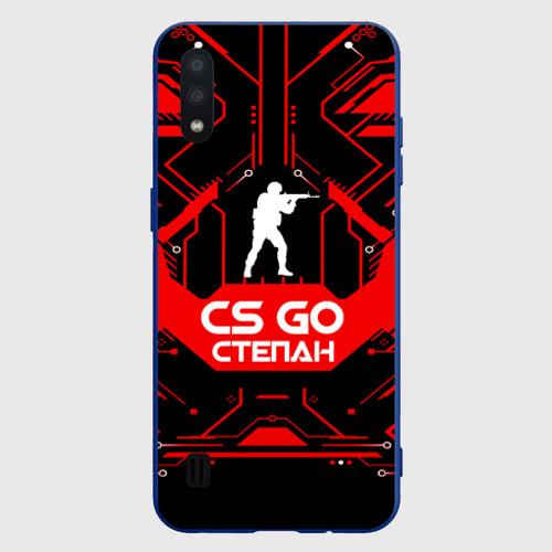 Чехол для Samsung A01 Counter Strike-Степан Фото 01