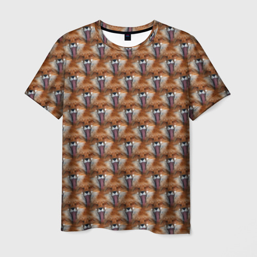 Мужская футболка 3D  Фото 03, Лисоньки фыр фыр