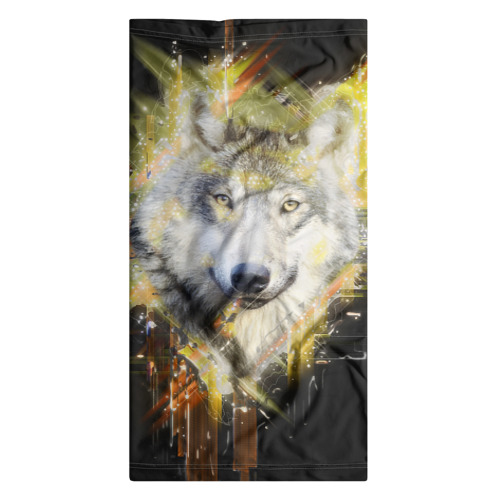 Бандана-труба 3D  Фото 07, Волк
