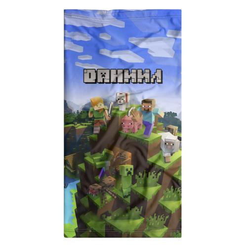 Бандана-труба 3D  Фото 07, Даниил - Minecraft