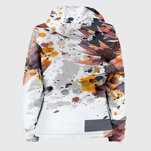 Женская куртка 3D  Фото 02, Abstraction flower