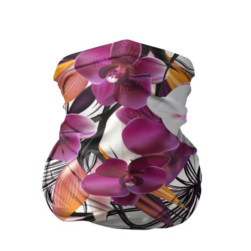 Бандана-труба 3D  Фото 01, Fashion flower