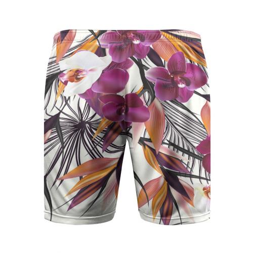 Мужские шорты 3D спортивные  Фото 02, Fashion flower