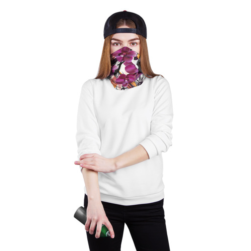 Бандана-труба 3D  Фото 02, Fashion flower