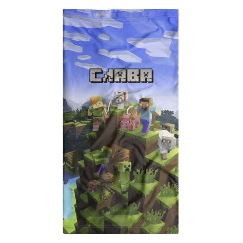 Бандана-труба 3D  Фото 07, Слава - Minecraft