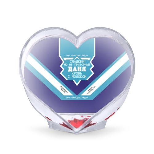 Сувенир Сердце  Фото 01, Даня - банка сгущенки