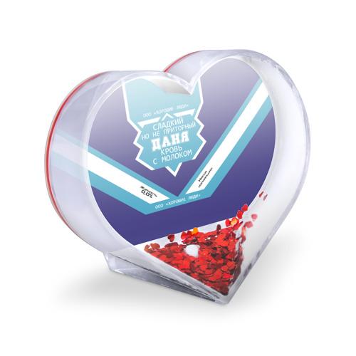 Сувенир Сердце  Фото 03, Даня - банка сгущенки
