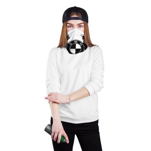 Бандана-труба 3D  Фото 02, bmw black collection 2018