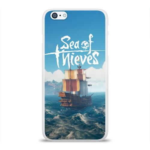 Чехол для Apple iPhone 6Plus/6SPlus силиконовый глянцевый  Фото 01, Sea of Thieves