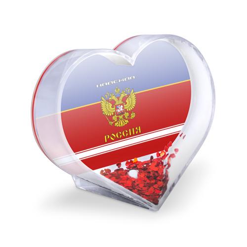Сувенир Сердце Хоккеистка Надежда