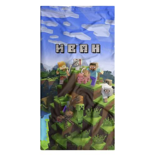 Бандана-труба 3D  Фото 07, Иван - Minecraft