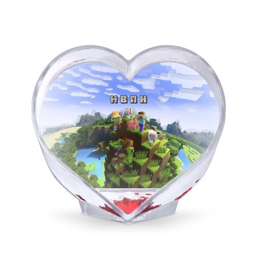 Сувенир Сердце  Фото 01, Иван - Minecraft