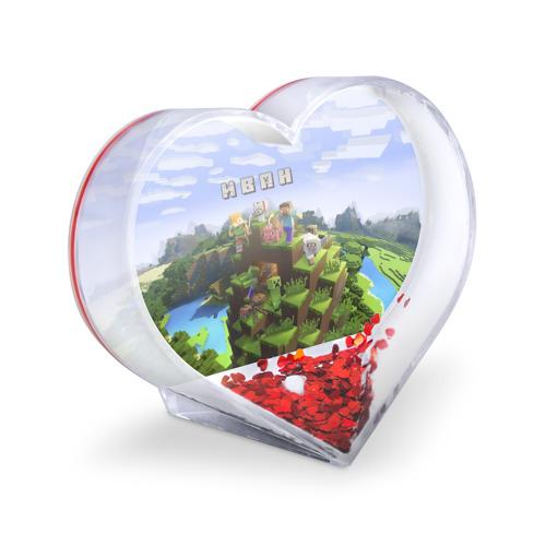 Сувенир Сердце  Фото 03, Иван - Minecraft