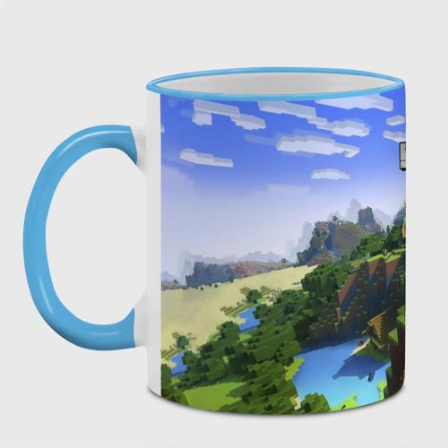 Кружка с полной запечаткой Иван - Minecraft Фото 01