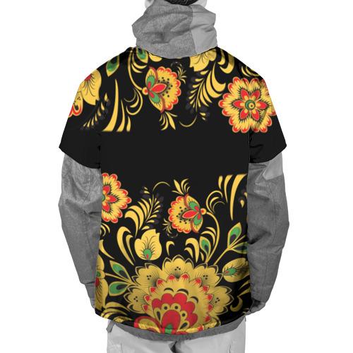 Накидка на куртку 3D  Фото 02, Игорь, роспись под хохлому