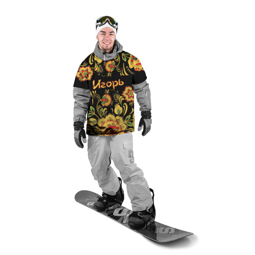 Накидка на куртку 3D  Фото 03, Игорь, роспись под хохлому