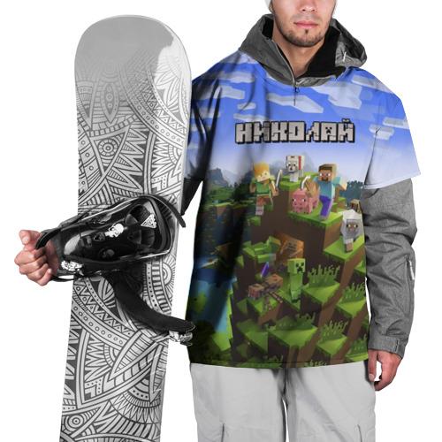 Накидка на куртку 3D  Фото 01, Николай - Minecraft