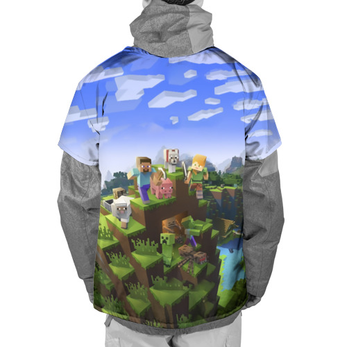 Накидка на куртку 3D  Фото 02, Николай - Minecraft