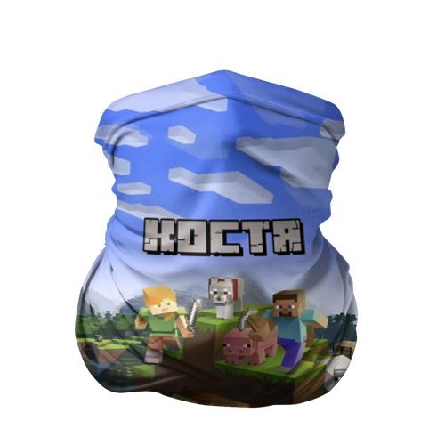Бандана-труба 3D  Фото 01, Костя - Minecraft