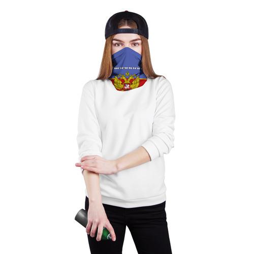 Бандана-труба 3D  Фото 02, Хоккеистка Людмила