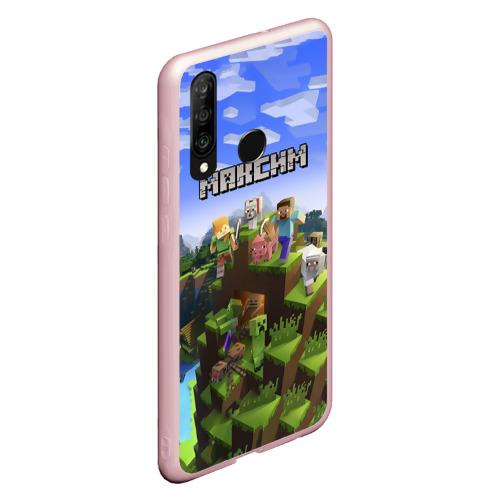 Чехол для Honor 10i Максим - Minecraft Фото 01