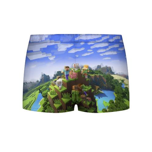Мужские трусы 3D  Фото 02, Максим - Minecraft