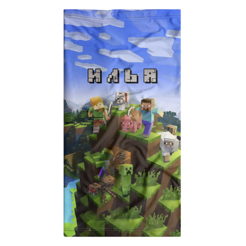 Бандана-труба 3D  Фото 07, Илья - Minecraft