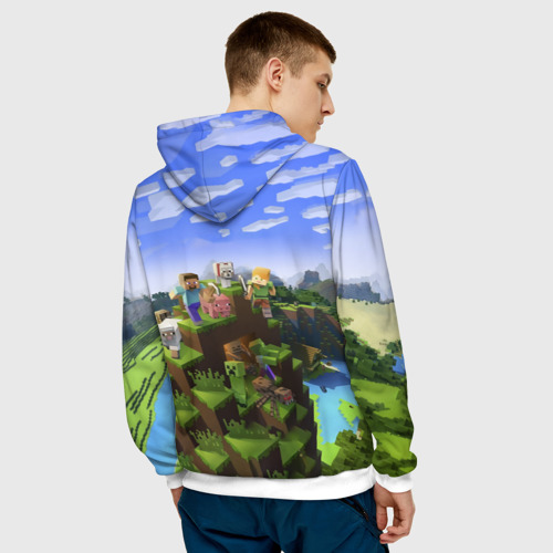 Мужская толстовка 3D  Фото 04, Илья - Minecraft
