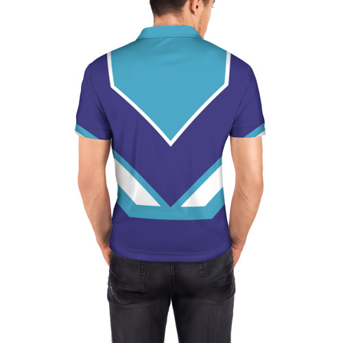 Мужская рубашка поло 3D  Фото 04, Глеб - банка сгущенки