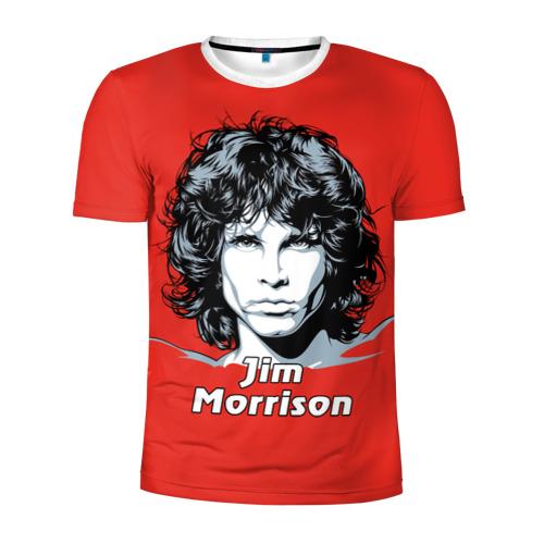 Мужская футболка 3D спортивная  Фото 01, Jim Morrison