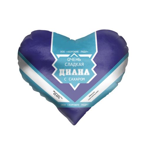 Подушка 3D сердце  Фото 01, Сеня - банка сгущенки