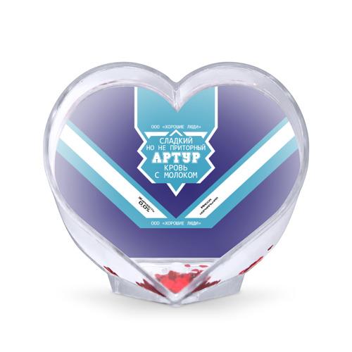 Сувенир Сердце  Фото 01, Артур - банка сгущенки